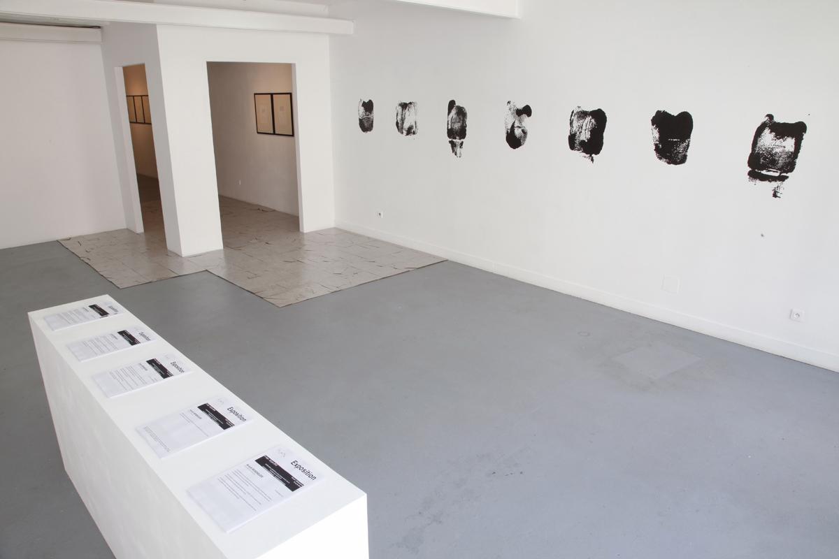 Anouk Bérenguer, artiste accueilli en résidence en 2012, pollen