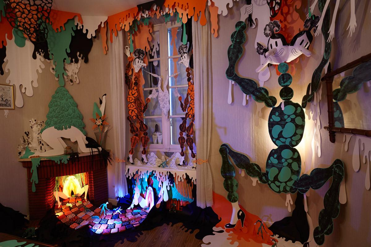 Christelle Enault, artiste accueillie en résidence en 2013, Pollen
