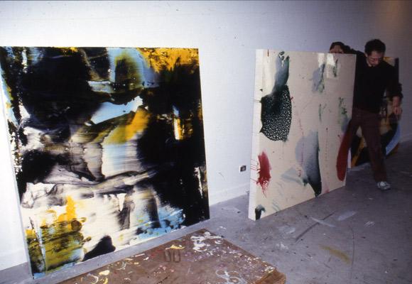 Baptiste Roux, artiste en résidence de 1994-1995, pollen