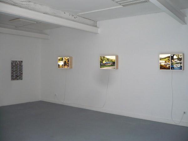 Marc Pichelin et Kristof Guez, exposition itinérante, Pollen, Monflanquin, 2011