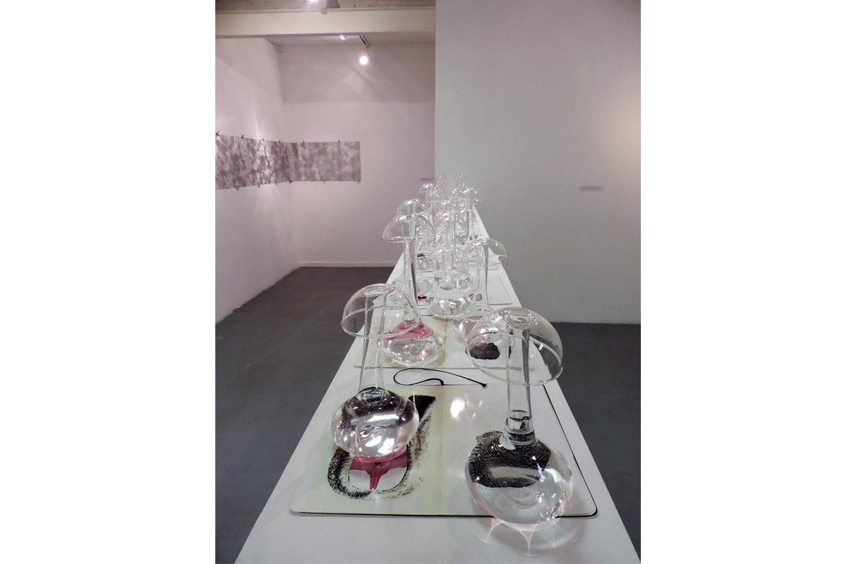Ghislaine Portalis, Exposition à Pollen, Monflanquin, 2016