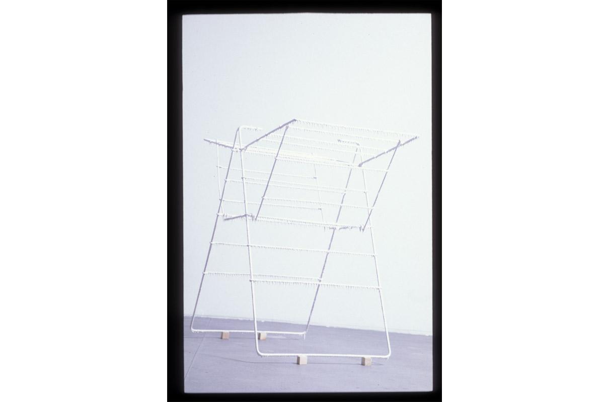 Exposition Laurent Vailler, artiste accueilli en résidence à Pollen en 2003