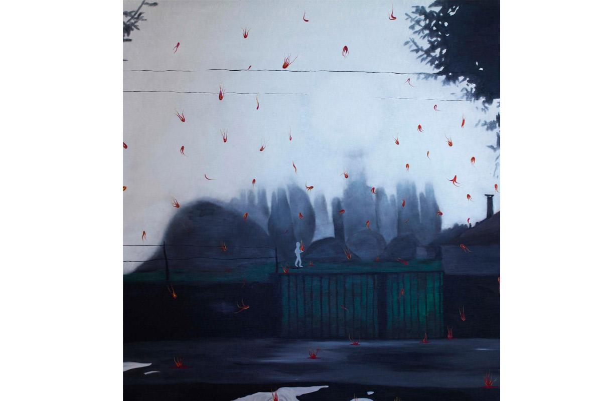 Alice Assouline, Exposition à Pollen, Monflanquin, 2016