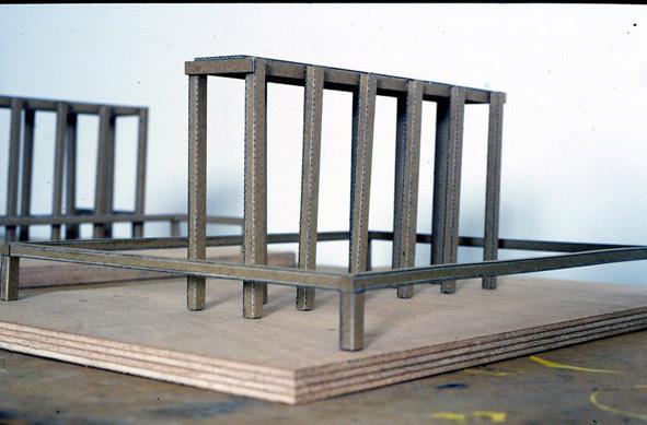 Jean-Marc Berguel, artiste en résidence, 1999
