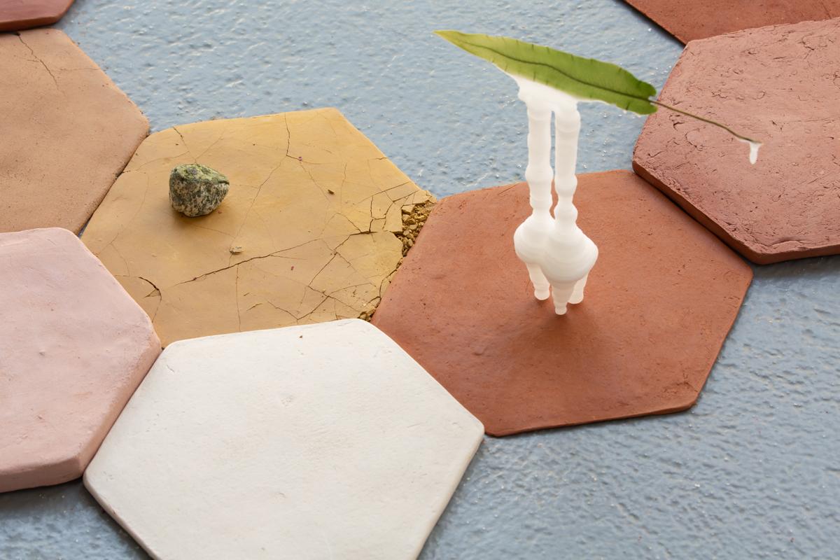 Tsama do Paco, artiste en résidence, 2019, Pollen