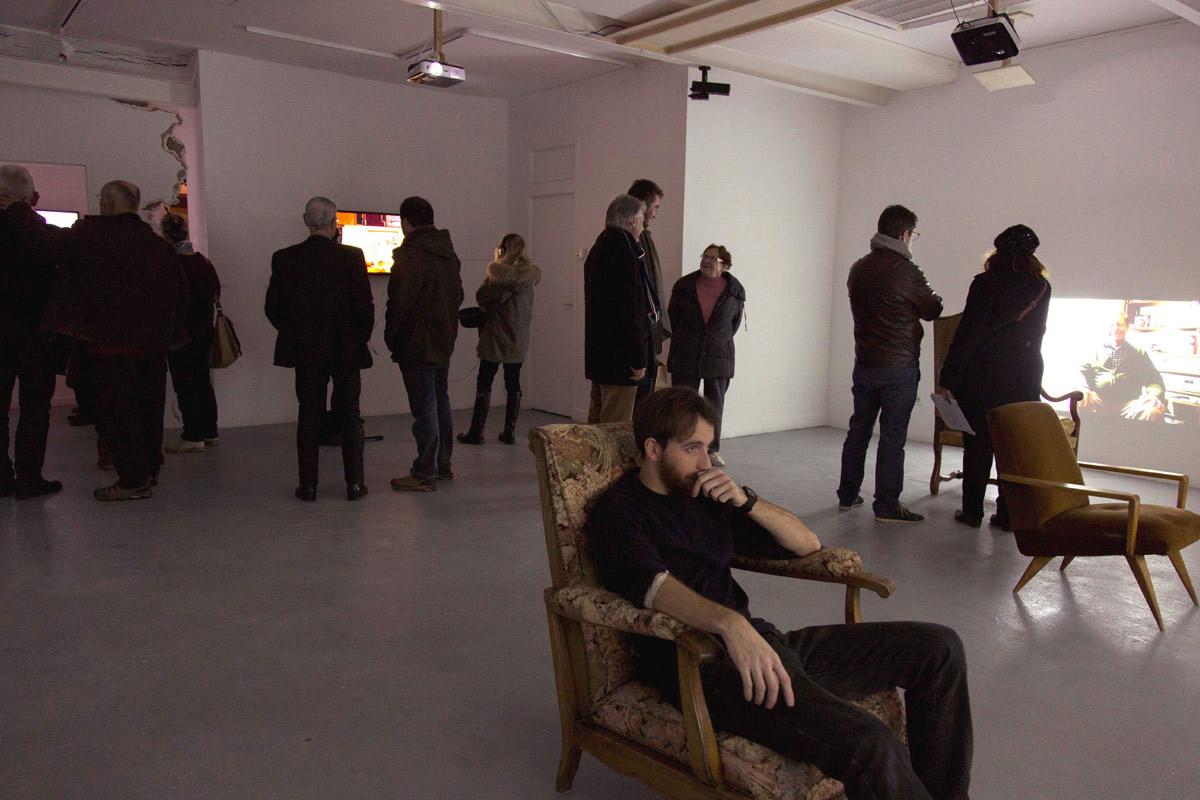 """Exposition """"chacun son histoire"""" de fin de résidence d'Amélie Berrodier, accueillie en résidence en 2017"""