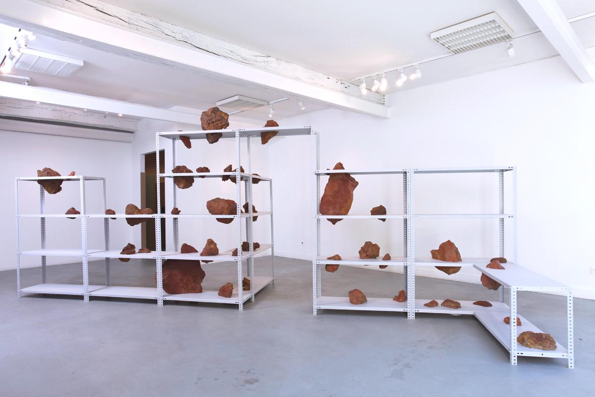 Exposition de Simon Thiou, accueilli en résidence en automne 2013