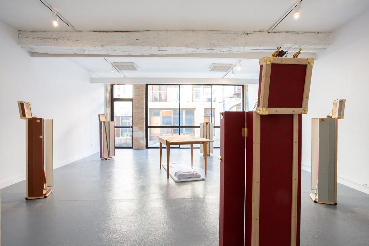 Jean Charles Remicoourt-Marie, artiste en résidence, 2018, Pollen