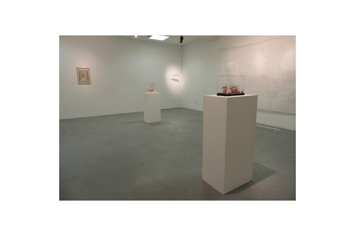 Clément Bagot, Exposition à Pollen, Monflanquin, 2014