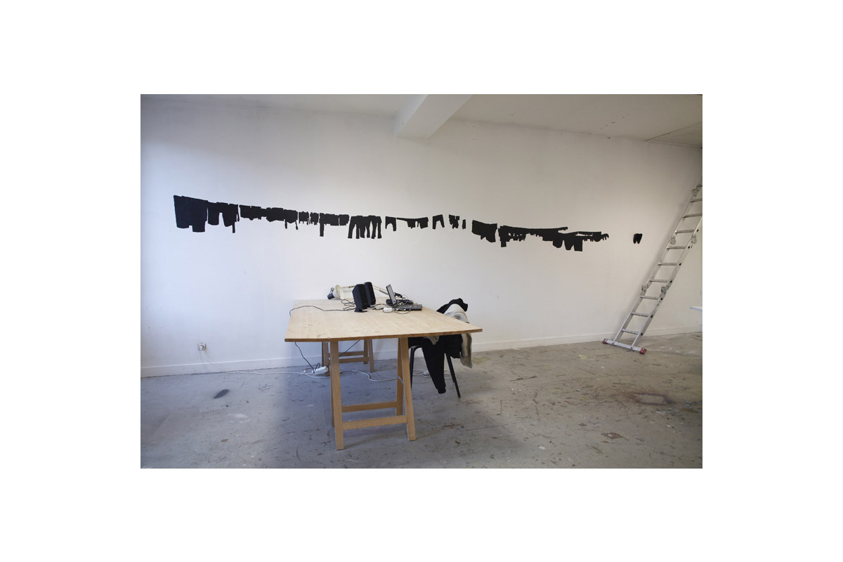 Eva Taulois, exposition à Pollen, 2008